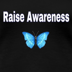 Awareness Butterfly Women's T-Shirts - Women's Premium T-Shirt