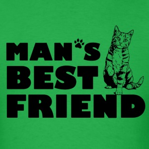 Man's Best Friend Cat Logo T-Shirts - Men's T-Shirt
