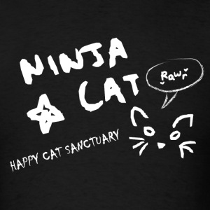 Ninja Cat Logo T-Shirts - Men's T-Shirt