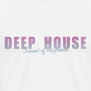 DEEP HOUSE SOUND OF HAPPINESS T-Shirts - Men's Premium T-Shirt