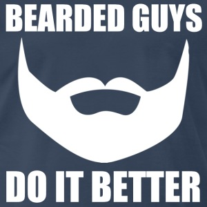 bearded guys T-Shirts - Men's Premium T-Shirt
