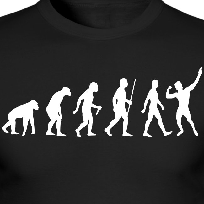 Long Sleeve T-Shirt Zyzz Evolution