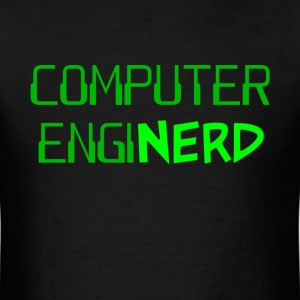 Computer Engineer Enginerd T-Shirts - Men's T-Shirt
