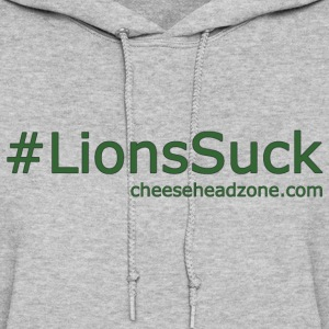 Hashtag Lions Suck Green - Women's Hoodie