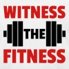 Witness The Fitness Barbell  T-Shirts - Men's T-Shirt by American Apparel