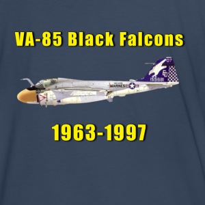 VA-85 Black Falcons A-6 Intruder Tribute Shirt  - Men's Premium T-Shirt