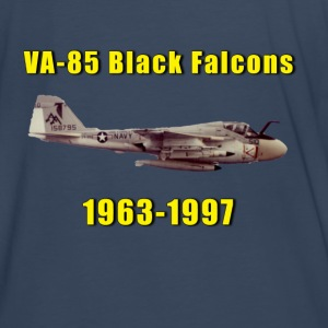 VA-85 Black Falcons Tribute Shirt  - Men's Premium T-Shirt