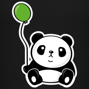 Panda with ballon Kids' Shirts - Kids' Premium T-Shirt
