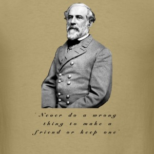 robert lee men To the editor: robert e lee betrayed his uniform and his country in choosing to serve a rebellion whose overriding rationale was the preservation of slavery, as the leaders of that.