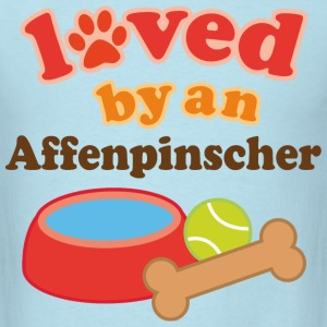 Affenpinscher Dog Owner T-Shirts - Men's T-Shirt