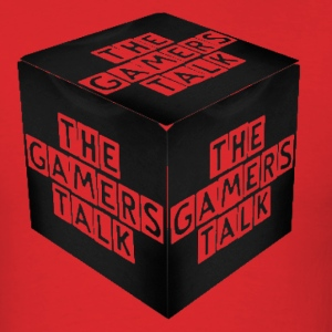 The Gamers Talk 3D - Men's T-Shirt