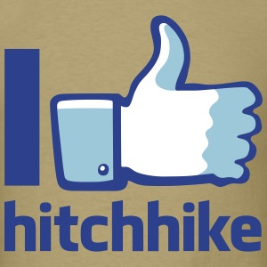 I Hitchhike - Men's T-Shirt