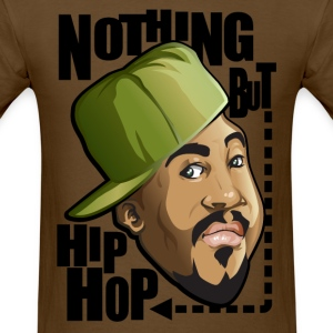 Nothing but hip hop - Men's T-Shirt