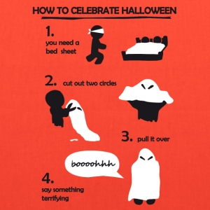How to celebrate Halloween Bags & backpacks - Tote Bag