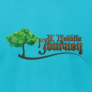 A Hobbits Journey  - Men's T-Shirt by American Apparel
