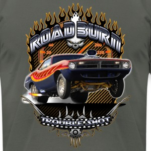 Barracuda Road Burn T-Shirts - Men's T-Shirt by American Apparel