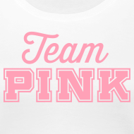 Design ~ Team Pink  (non maternity) Tee