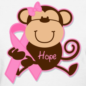 Monkey Cancer Hope Women's T-Shirts - Women's T-Shirt