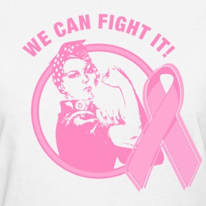 Rosie We Can Fight It Women's T-Shirts - Women's T-Shirt