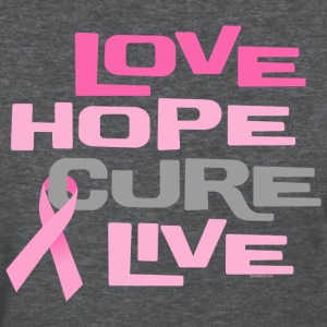 Love Hope Cure Live Women's T-Shirts - Women's T-Shirt
