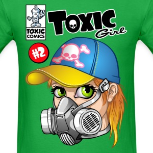 Toxic girl - Men's T-Shirt
