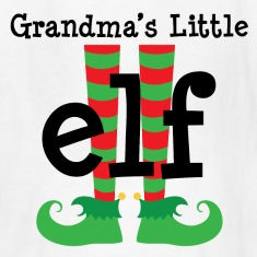 Grandchild Christmas Elf Kids' Shirts