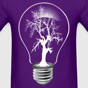 Lightning tree - Men's T-Shirt
