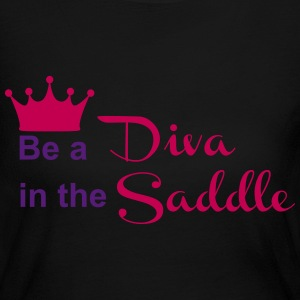 Be a Diva in the Saddle Long Sleeve Shirts - Women's Long Sleeve Jersey T-Shirt