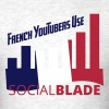 Social Blade French YouTuber T-Shirt - Men's T-Shirt