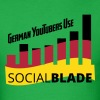 Social Blade German YouTuber T-Shirt - Men's T-Shirt