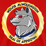 Design ~ Wolfie McWolfington Seal of Approval Men's HW