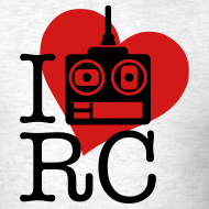 Design ~ I Love RC T-Shirt