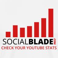 Design ~ Social Blade Traditional Premium T-Shirt