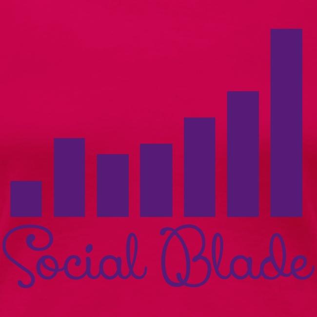 Social Blade Girly Logo Women's Shirt