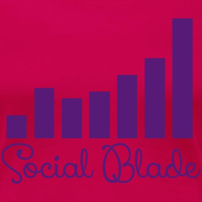 Social Balde Purple Logo Women's Shirt