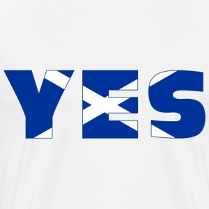 Scotland says YES Shirt - Men's Premium T-Shirt