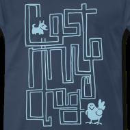 Design ~ Men's Premium T - Blue Maze Print