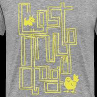 Design ~ Men's Premium T - Yellow Maze Print