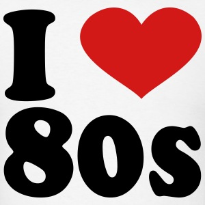 I Love 80s T-Shirts - Men's T-Shirt