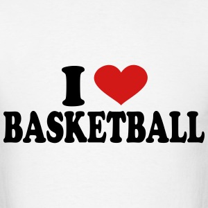 I Love Basketball T-Shirts - Men's T-Shirt