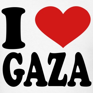 I Love Gaza T-Shirts - Men's T-Shirt