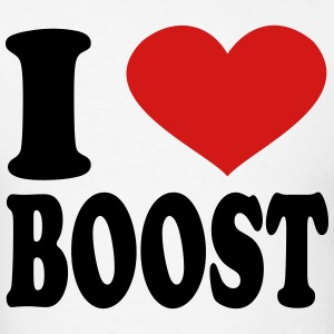 I Love Boost T-Shirts - Men's T-Shirt