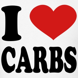 I Love Carbs T-Shirts - Men's T-Shirt
