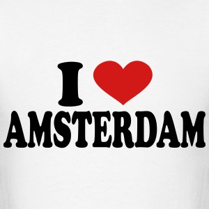 I Love Amsterdam T-Shirts - Men's T-Shirt