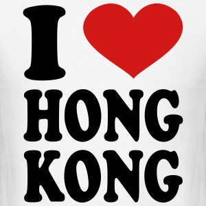 I Love Hong Kong T-Shirts - Men's T-Shirt