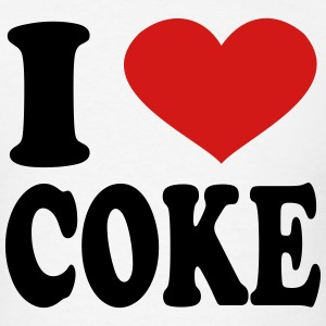 I Love Coke T-Shirts - Men's T-Shirt