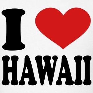 I Love Hawaii T-Shirts - Men's T-Shirt