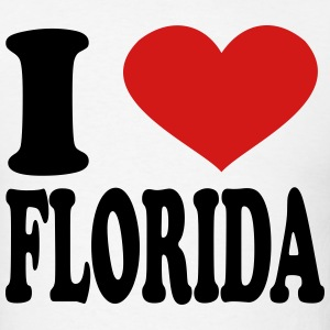 I Love Florida T-Shirts - Men's T-Shirt