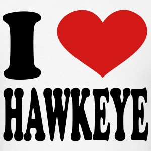 I Love Hawkeye T-Shirts - Men's T-Shirt