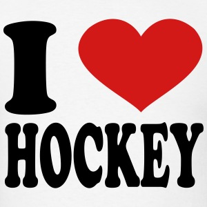 I Love Hockey T-Shirts - Men's T-Shirt
